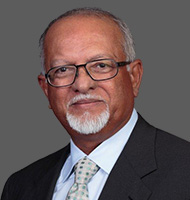 A photo of James M. Singh.